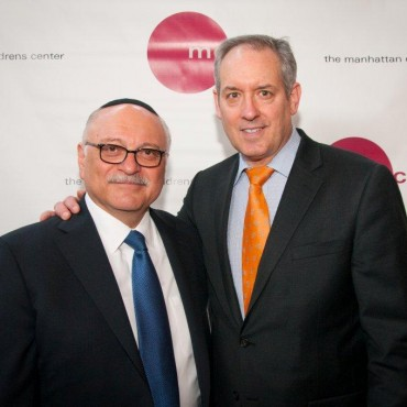 Gary Mayerson and Tom Gelb at the Manhattan Childrens Center Event 2014