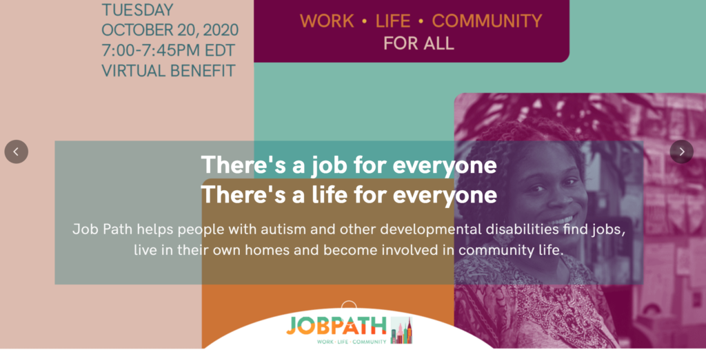 JobPath Virtual Gala: October 20th at 7pm