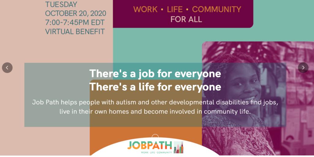 JobPath Virtual Gala: October 20th at 7pm